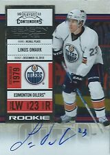 (HCW) 2010-11 Playoff Contenders LINUS OMARK Auto / RC Panini Rookie 00033