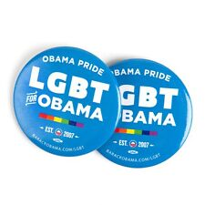 Obama LGBT 2012 PRESIDENT Official Campaign BUTTON