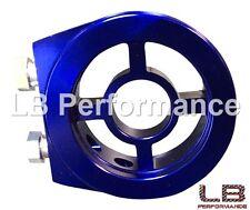 Adaptador de placa de Sandwich para la temperatura del aceite/Sensor De Presión 3/4 UNF16 FILTRO BL