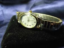 Woman's Quartz Watch with Expansion Band **New Condition**B50-1021