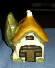 Vintage Handmade Novelty Cottage Candle. Hand Made in England