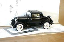 Franklin Mint 1932 Ford Deuce Coupe Negro 1/24 Perfecto En Caja Mx