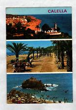 CALELLA / BARCELONA (ESPAGNE) MARCHAND Ambulant de GLACES à la PLAGE en 1980