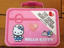 Hello Kitty First Aid Kit Box with Contents Stickers Made in Japan