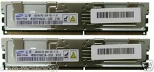 8GB (2x4GB) DDR2-667 PC2-5300F Memoria/RAM HP Workstation XW8400 & XW8600 BL20P G4