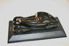 1/43 MERCEDES BENZ 500K AUTOBAHN-KURIER 1935 BLACK COUPE RARE IXO MUSEUM NO BOX