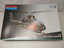 Monogram 5444 1:48 AH-1S COBRA Helicopter