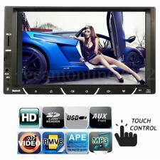 Bluetooth Pantalla Táctil LCD Coche Estéreo 2 DIN MP5 FM Audio Vídeo Reproductor