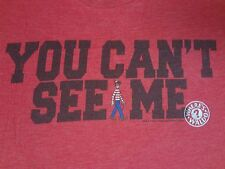 WHERE'S WALDO - YOU CAN'T SEE ME - XL RED T-SHIRT A554