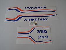 350  S2   KAWASAKI  AUTOCOLLANT   TANK  DECAL  AUFKLEBER