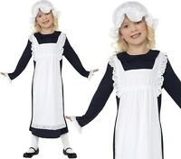 Childs Girls Poor Victorian Girl Fancy Dress Costume Childrens by Smiffys New.