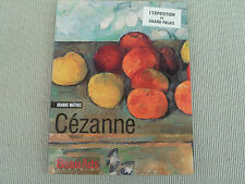 BEAU LIVRE D ART L EXPOSITION DU GRAND PALAIS CEZANNE