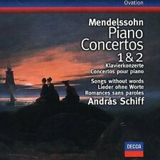 Mendelssohn: Piano Concertos Nos. 1 & 2; Songs Without Words [Germany] New CD