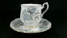 Royal Albert English Bone China Demi-tasse cup & saucer in Silver Maple