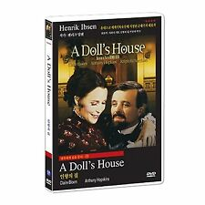 A DOLL'S HOUSE (1973) DVD - BRAND NEW - ALL REGION - ANTHONY HOPKINS
