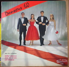 DANSONS 60 MICHEL ATTENOUX RETRO COVER 25 cm FRENCH LP DISQUES SYMPHONIUM