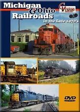 Michigan & Ohio Railroads in the Late 1970's DVD C&O DVD NEW DT&I Conrail Alexis
