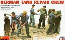 GERMAN TANK REPAIR CREW (TO TIGER, PANTHER, PANZERS II/III/IV, ETC) 1/35 MINIART
