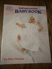 Knit and Crochet BABY BOOK American School of Needlework 1984 Mary Thomas