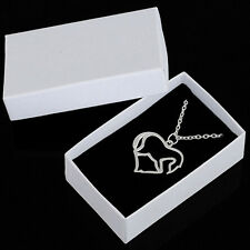 Cute Pure Convenient Hot High Quality Silver Hearts Horse Fashion Necklace Hot