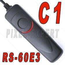 CANON POWERSHOT G10 RS-60E3SCATTO REMOTO G11 G12 G15 G1X TELECOMANDO FOTOCAMERA