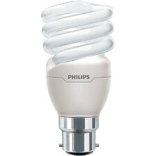 Philips Tornado Energy Saver Light Bulb 20W B22 CFL Warm White Spiral Light New