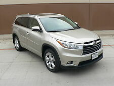 2015 Toyota Highlander Limited Sport Utility 4-Door