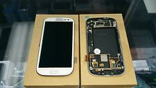 Samsung Galaxy S3 i747 t999 t999L White LCD Touch Display with Frame part