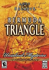 NEW SEALED Lost Secrets: Bermuda Triangle Unsolved Mysteries PC/Mac Video Game