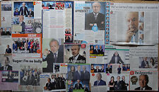 Lord Alan Sugar - clippings/cuttings/articles pack - The Apprentice
