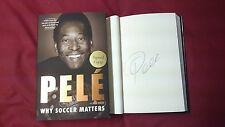 Pelé Why Soccer Matter Signed BOOK 1/1 DJ HC Brazil Football World Cup FIFA Pele