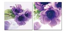 "40"" FRAMED Hot Modern Contemporary Canvas Wall Art Print Painting Purple Flowers"