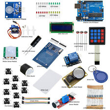 Arduino RFID Starter Learning Kit &UNO R3 Mainboard 1602 LCD Sensor DIY Projects