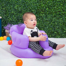 Multifunctional Inflatable Baby Sofa Learn Training Seat Bath Dining Chair SM