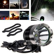 Outdoor Cycling CREE T6 LED Bicycle Bike Head Lamp Light w/ Rechargeable Battery