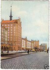 AK, Rostock, Partie in der Langen Straße mit Straßenbahn, 1962