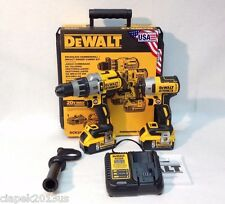 Dewalt DCK299P2 20V MAX XR Cordless Brushless Li-Ion Hammerdrill & Impact Kit
