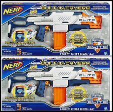2  Nerf N-Strike Elite Nerf Cam ECS-12 W/Built-in Camera Guns A+ FOR AMAZON FBA