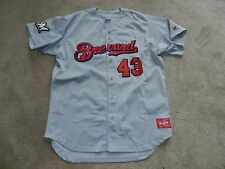 2016 Brevard County Manatees Game Used Road #43 Milwaukee Brewers