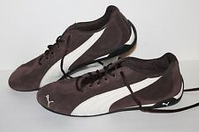 PUMA Repli Cat III Trainers, #303390-02, Brown/White, Leather, Men's US Size 12