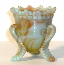 Boyd Glass Made in 1978 Forget Me Not Toothpick SLAG Red Green FUND