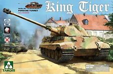 1/35 Takom German Hvy Tank King Tiger Porsche Gun Turret (with Interior) #2074
