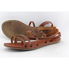 Mia DeeDee Women US 11 Brown Gladiator Sandal Pre Owned  1257
