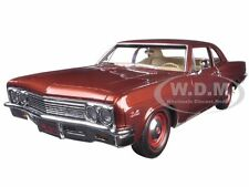 1966 CHEVROLET BISCAYNE COUPE BRONZE LTD 1002pc 1/18 AUTOWORLD AMM1053