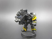 Space Marines Legion of the Damned w/ Heavy Bolter OOP - metal 40K CP101
