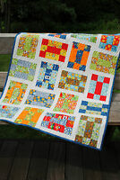 QUILT PATTERN Baby and Lap, Jelly Roll, layer cake or Fat Quarters QUICK,Easy,