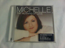 MICHELLE The Meaning Of Love CD