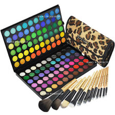 120 Makeup Cosmetici Shimmer Matte Eyeshadow Palette W 12 Makeup Brush # 89A # 177L