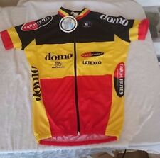 NWT Cycling Jersey NEW Vermarc domo Farmfrites Latexco Eddy Merckx Rare!!!!