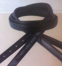 Gfs Covered Stirrup Leathers. Brown, Adult 58""